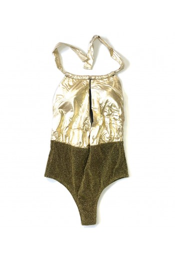 Trikini Luxury Gold